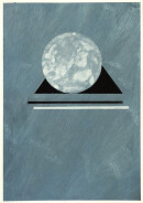 ´MOMENTS XIII`, 300121, pigments, acrylic, ink, pencil, 29,7 x 21 cm