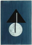 ´MOMENTS XV`, 310121, pigments, acrylic, ink, pencil, 29,7 x 21 cm
