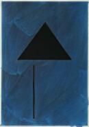 ´MOMENTS XVI`, 020221, pigments, acrylic, ink, pencil, 29,7 x 21 cm
