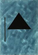 ´MOMENTS XVIII`, 020221, pigments, acrylic, ink, pencil, 29,7 x 21 cm